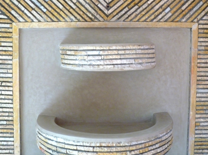 Fontaine marrakech maroc karea creation - Beton douche wax ...
