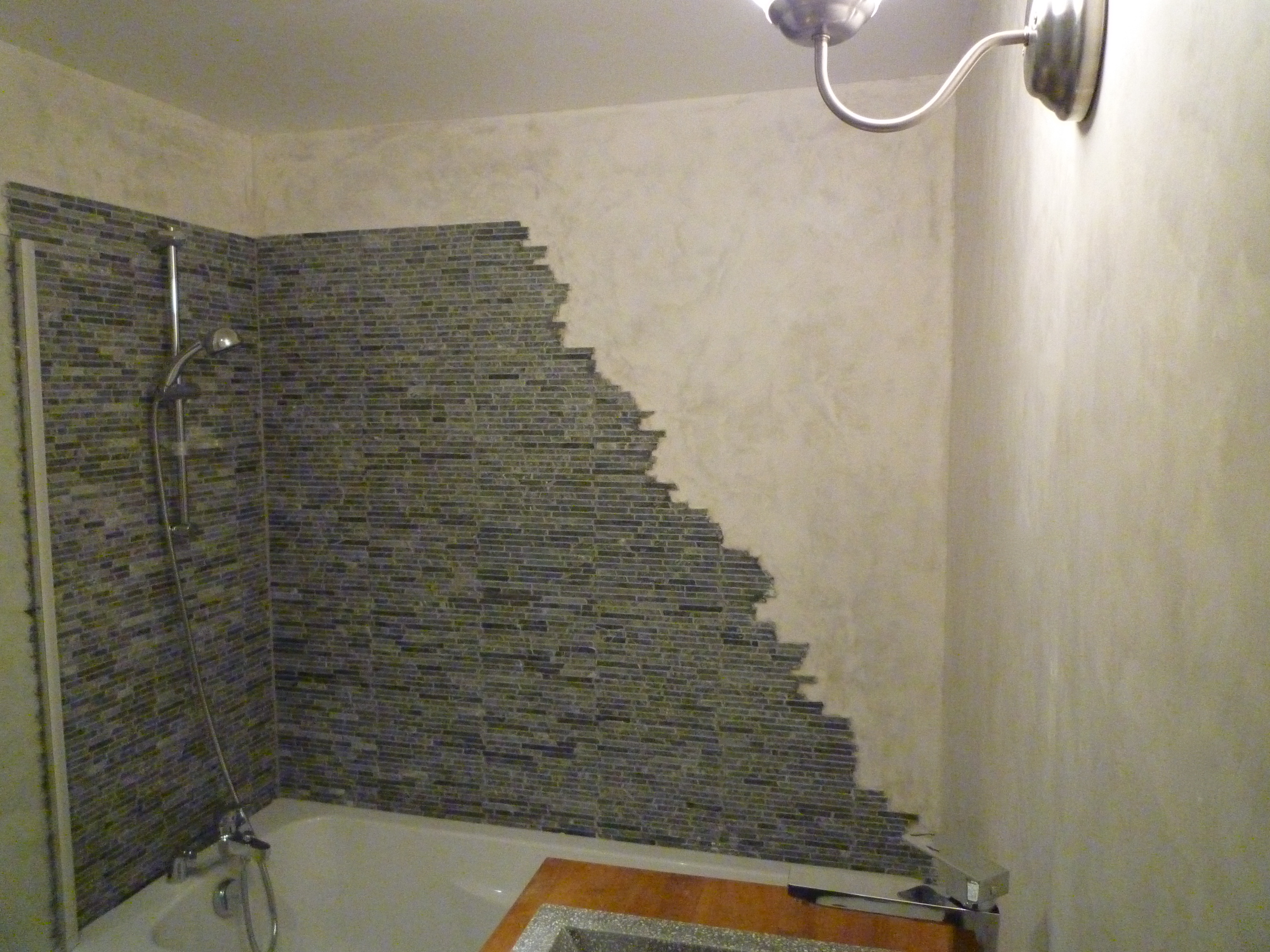 salle de bain anglet karea creation. Black Bedroom Furniture Sets. Home Design Ideas